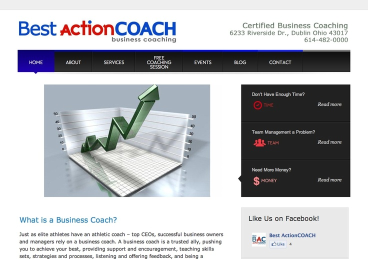 Website for Best ActionCOACH