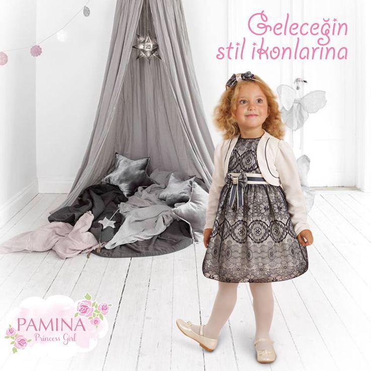 Günümüzün minikleri, geleceğin stil ikonları olabilir!  Pamina girls are style icon of future...  #style #kidsfashion #kidswear #Style #Kids #KidsWear #Fashion #Stil #Dress #Stylish #İcon