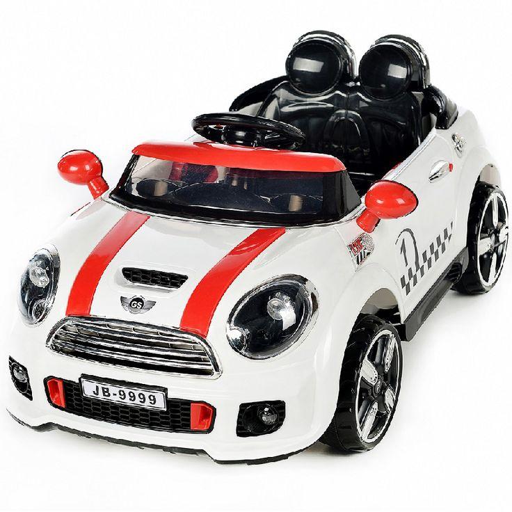 AUTO ELETTRICA COUPE' RALLY 12V BIANCO nm - 00116001