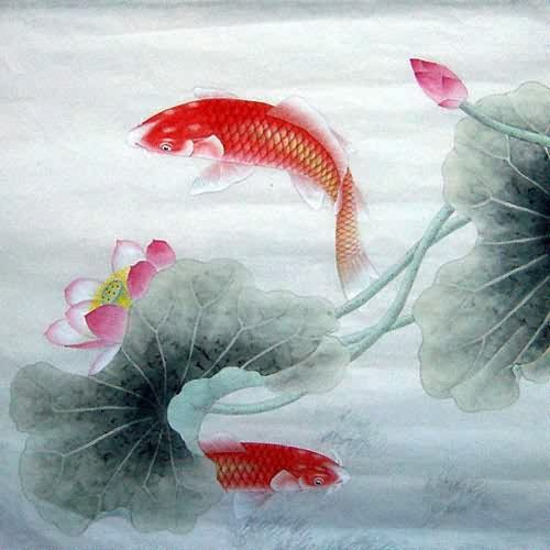 1000 images about chinese brush painting on pinterest for Chinese koi fish