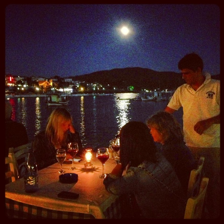 dinner by the moonlight