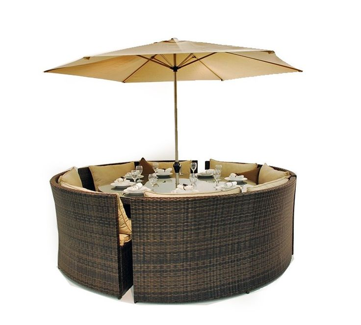 33 best garden images on pinterest dining set dining for Outdoor furniture 12 seater
