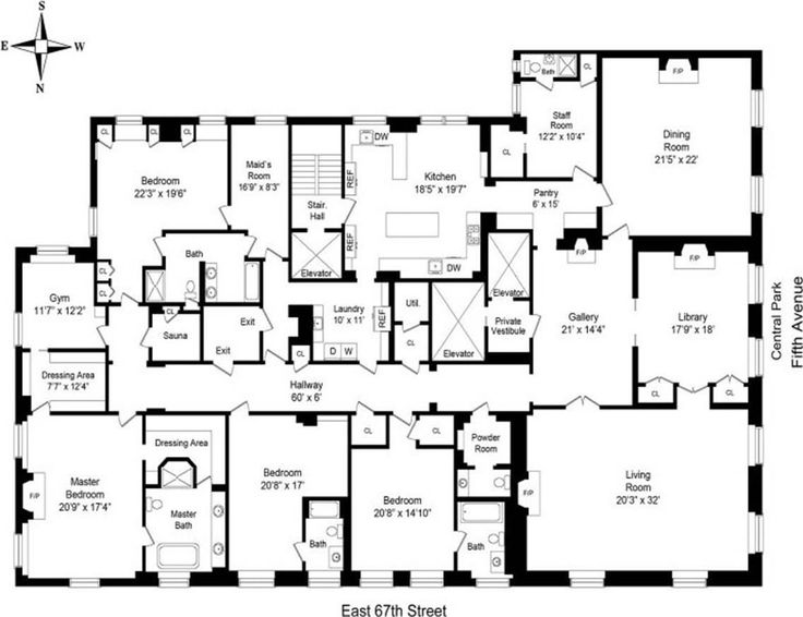 409 best cool floorplans images on pinterest apartment for Real estate floor plan pricing