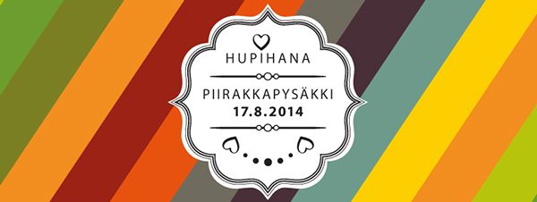 Hupihana makes fun for good deeds by Susa Laine, via Behance