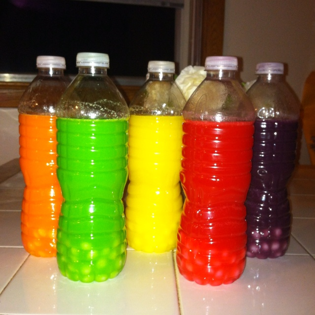 Skittles shots... A few more days and I'll post the skittles shots ready to go!! Yum!!