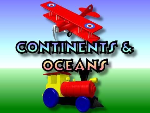 Children's: Continents and Oceans quick You Tube Video