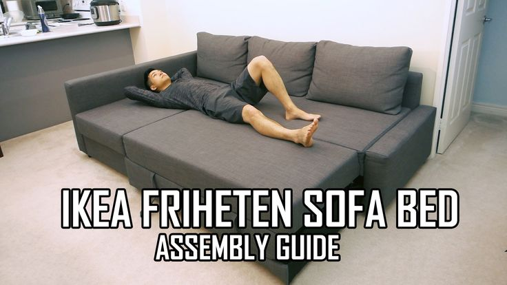 Full review of the IKEA FRIHETEN Sofa Bed is available here: https://www.youtube.com/watch?v=XwjFD6romAY The IKEA FRIHETEN is a sofa lounger that has a built...