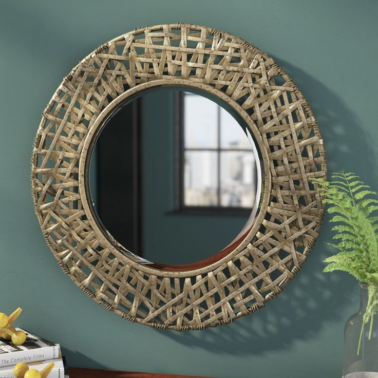 Arianna Round Oversized Wall Mirror