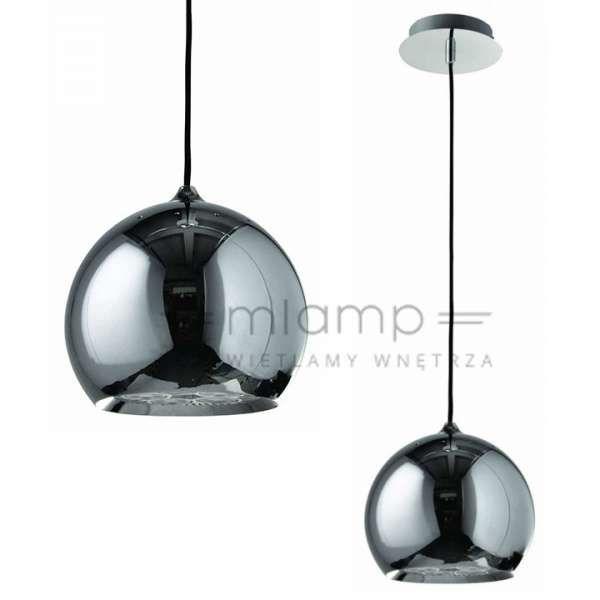 LAMPA wisząca REGINA FH5951BJ-200 CH Italux metalowa OPRAWA klasyczna ZWIS kula ball chrom