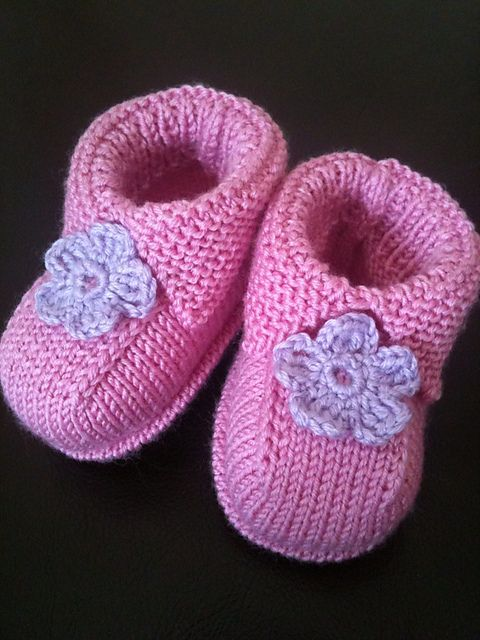 Ravelry: Project Gallery for Bootees pattern by Debbie Bliss