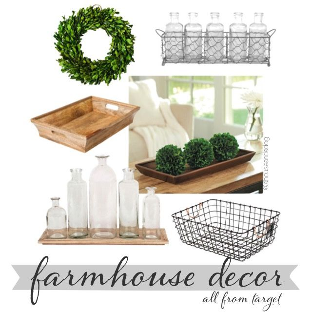 Target Thursday : Farmhouse Decor
