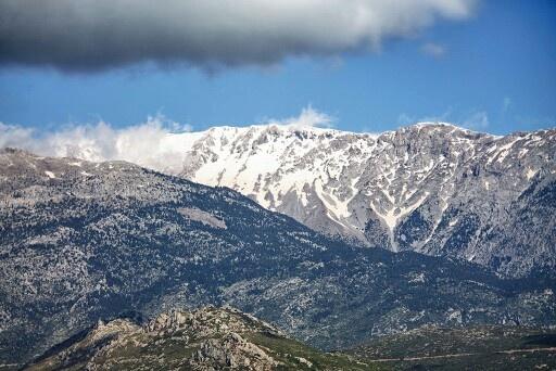 Parnassus Greece. Winter 2010.