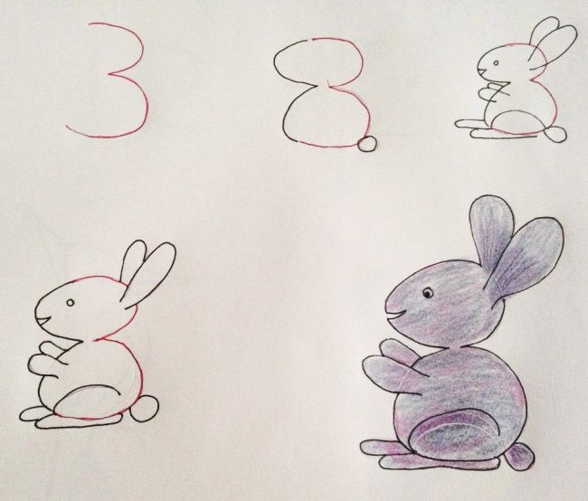 How To Teach Your Child To Draw Using Numbers Fabweb Baby Talk