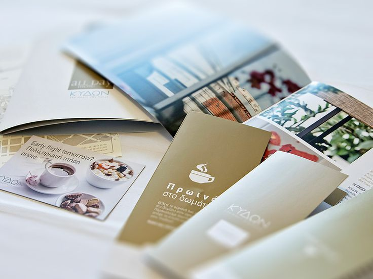 Menu & Brochure for Kydon Hotel