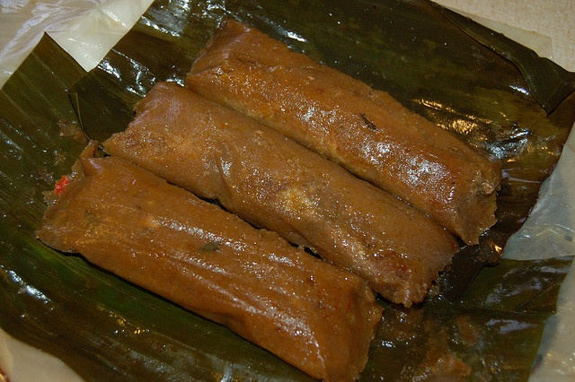 Pasteles...one of my fave puerto rican dishes. My grandma makes the best (better than sol food...don't know how that's possible but it's the truth). Soooo yummy