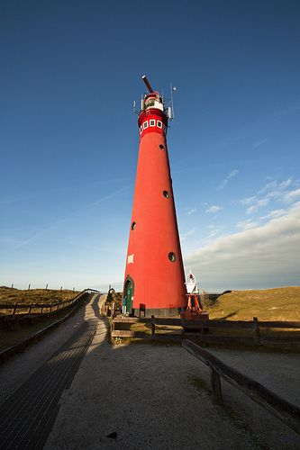 Schiermonnikoog Lighthouse - Netherlands.