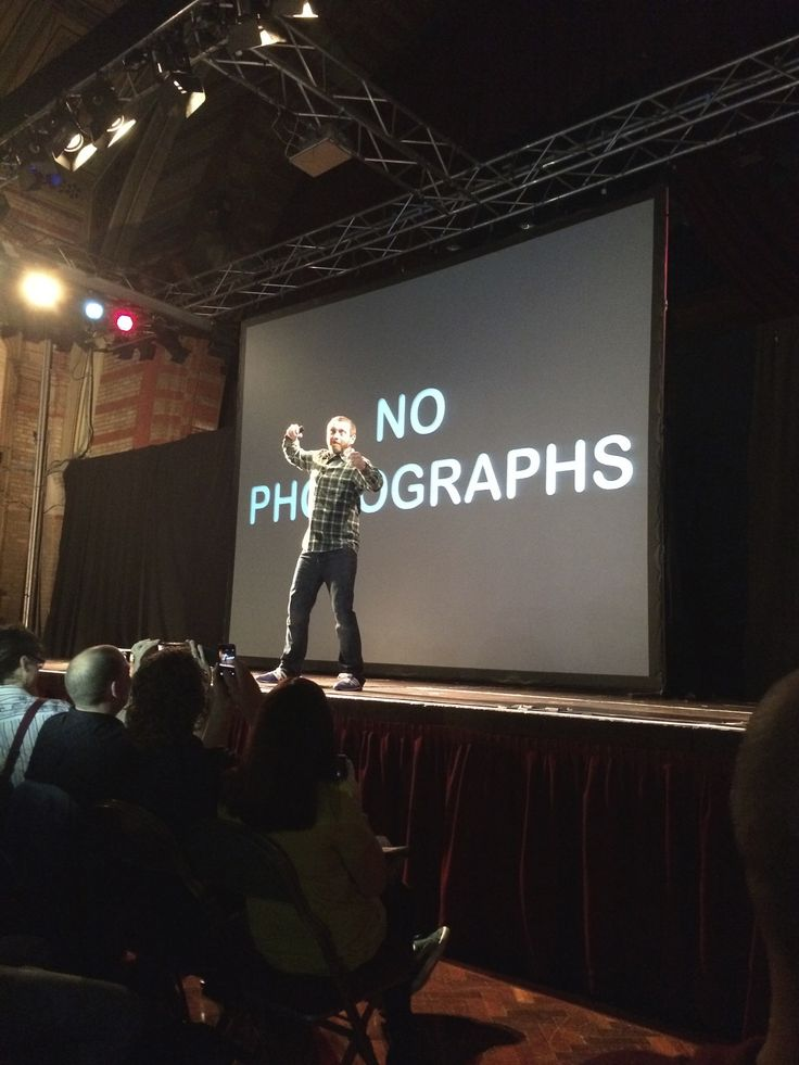 Dave Gorman, Powerpoint* - 17/10/14 - Corn Exchange, Ipswich