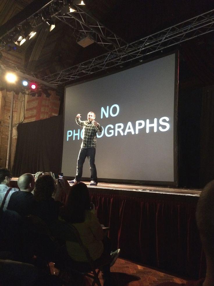 Dave Gorman, Powerpoint* - 17/10/14 - Corn Exchange, Ipswich