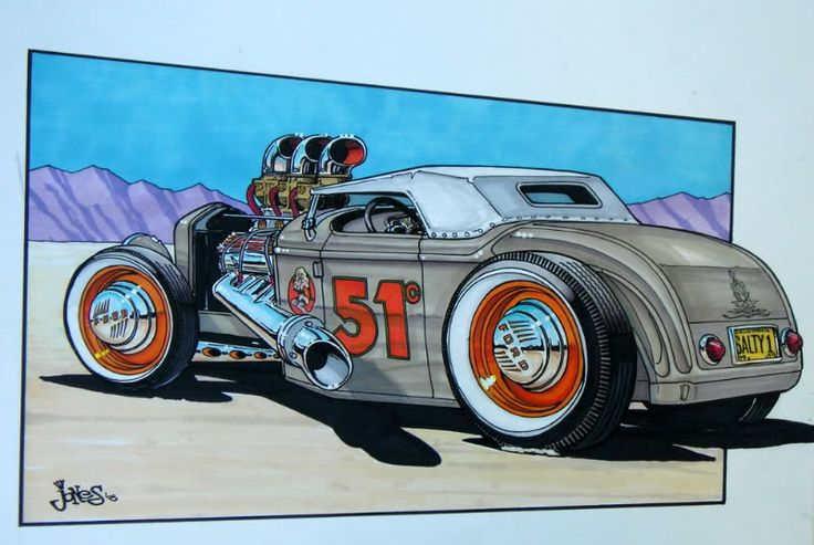 Hot Rod Art | Check out my Website: http://www.joneshotroddesign.com