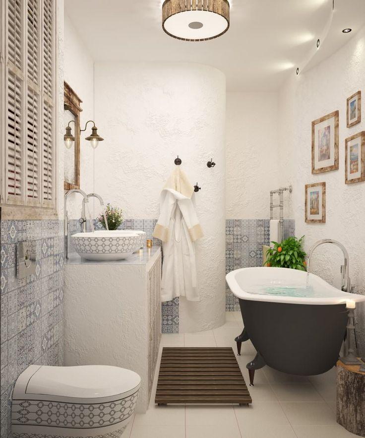ванная комната в дизайне квартиры 70 кв. м.