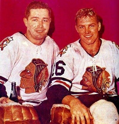 Glenn Hall & Bobby Hull - Chicago