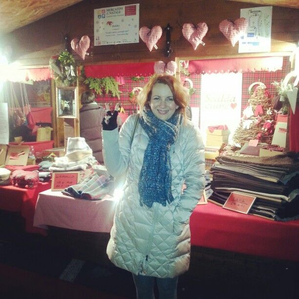 Me in Christmas market