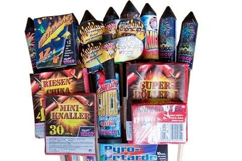 Kiss of Dark (Genesis) Familien-Feuerwerksortiment von Weco II - Der Feuerwerk Shop
