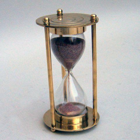 Reloj de Arena Náutico de Latón