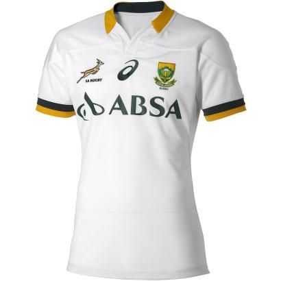 South Africa Test Alternate Rugby Shirt S/S 2015 - Front