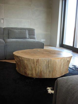 wooden table / drewniany stolik - http://www.seart.pl/stolik-jednego-kawalka-drewna-debowego-p-5987.html