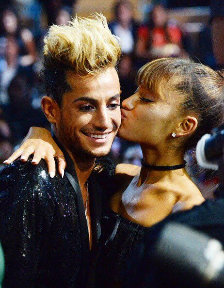 Ariana Grande with her brother Frankie Grande♥