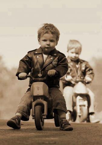 Baby Biker