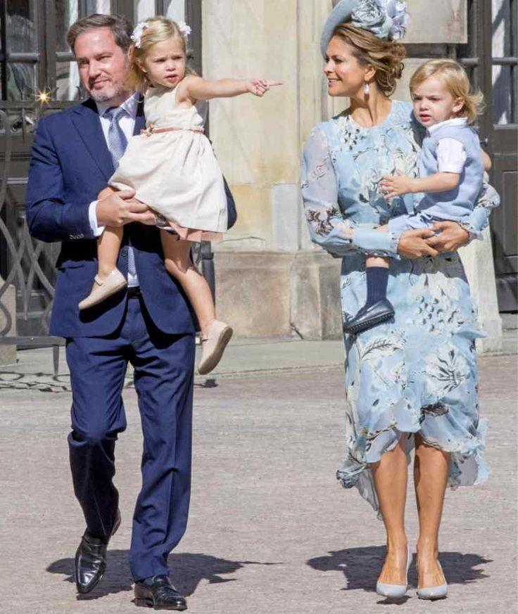 Prinzessin Madeleine und ihre Ehemann Chris O'Neill freuen sich mit den gemeinsamen Kindern Leonore und Nicolas auf Nachwuchs Nummer drei