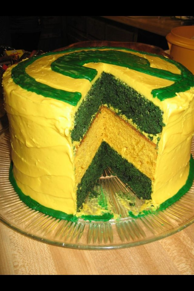 30 Best Green Bay Packers Cakes Images On Pinterest