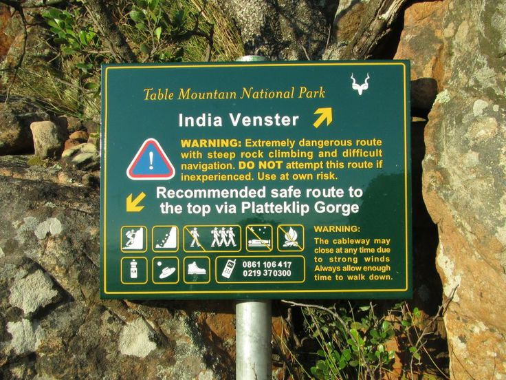 India Venster route - Scramble up the mountain