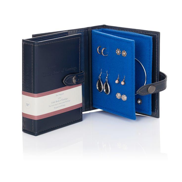 Little Book of Earrings - Blue