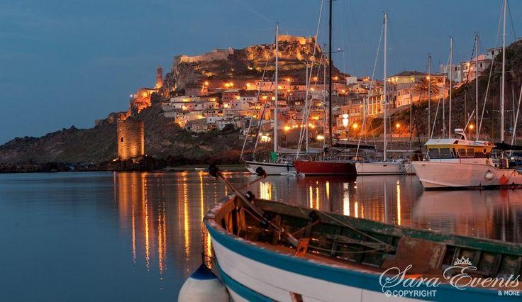 Panoramic photo of Castelsardo, Sardinia