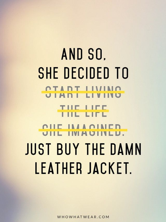 The Fashion-Girl Quote: