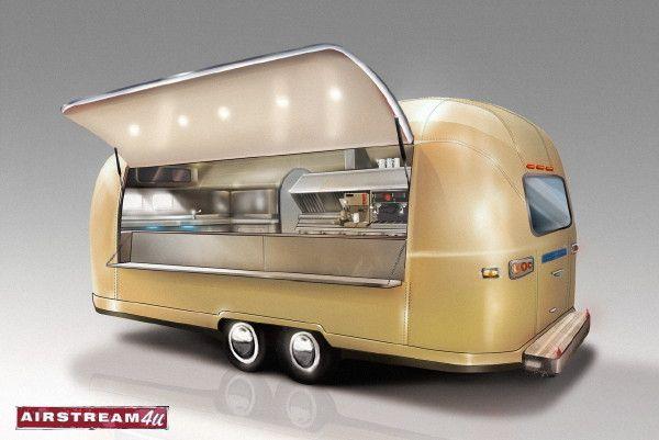 Airstream Argosy .. Verkaufswagen .. Imbisswagen .. Ausgabefahrzeug .. Ausschankwagen .. Concession Trailer .. Airstream Diner...