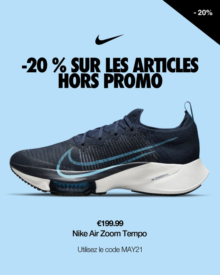 Chaussure de running Nike Air Zoom Tempo NEXT% pour Homme. Nike FR ...