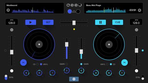 deej - DJ turntable. Loops & effects edition inQBarna 제작 디제이 음악 만들기