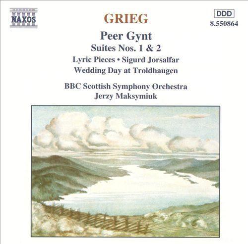 Grieg: Peer Gynt Suites Nos. 1 & 2; Lyric Pieces; Sigurd Jorsalfar; Wedding Day at Troldhaugen [CD]