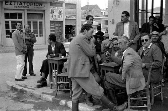 Καφενείο-Κρήτη 1955