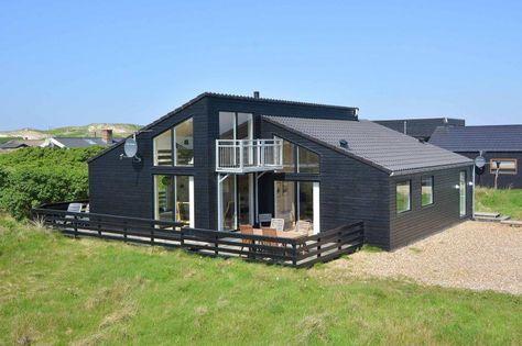 Neues Luxusferienhaus mit Internet in Mettes Bjerg. Preislich absolut in Ordnung mit knapp 13 hundert Stutz im August. Kurz vor Hvide Sande, Argab. Und der Hund darf auch mit.