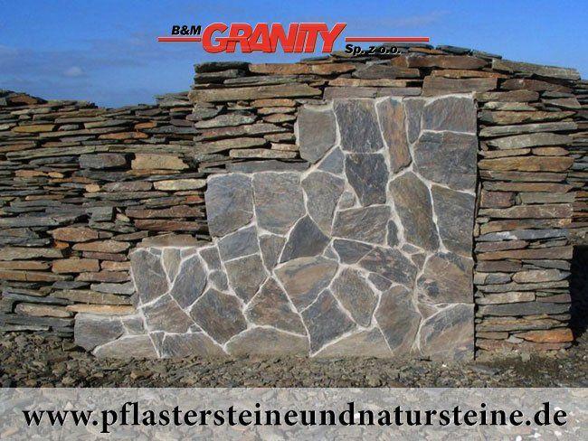 B\M GRANITY - Eine Natursteinmauer kann so individuell seinu2026Die - steine fur gartenmauer