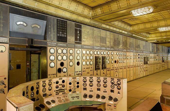 Inside Battersea Powerstation
