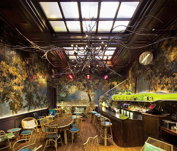 Cool Places In London For Lunch: The Glade Bar - Sketch - London