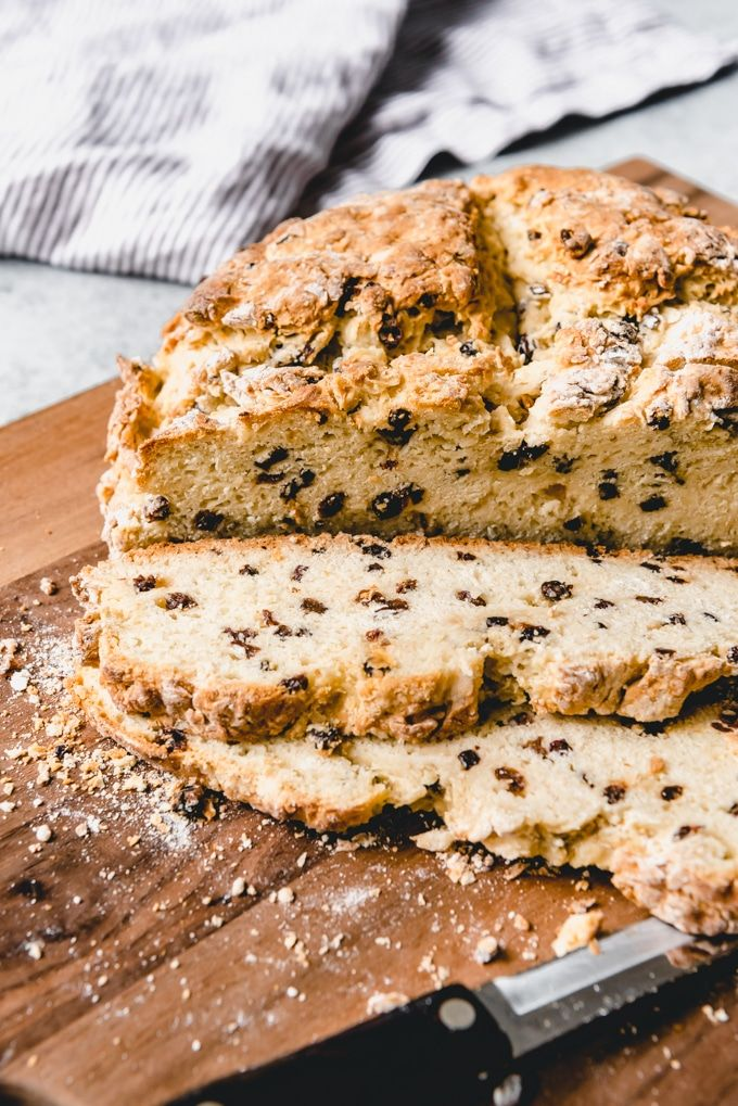 A Traditional Irish Soda Bread Recipe Has Only Four Ingredients Flour Baking Soda Buttermilk And Salt My Favor Irish Soda Bread Soda Bread Irish Recipes