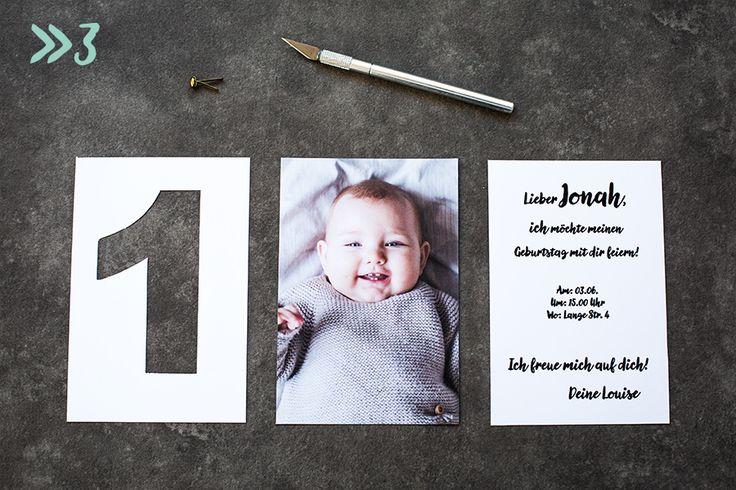 Einladungskarte Kindergeburtstag Fotos Schritt_3