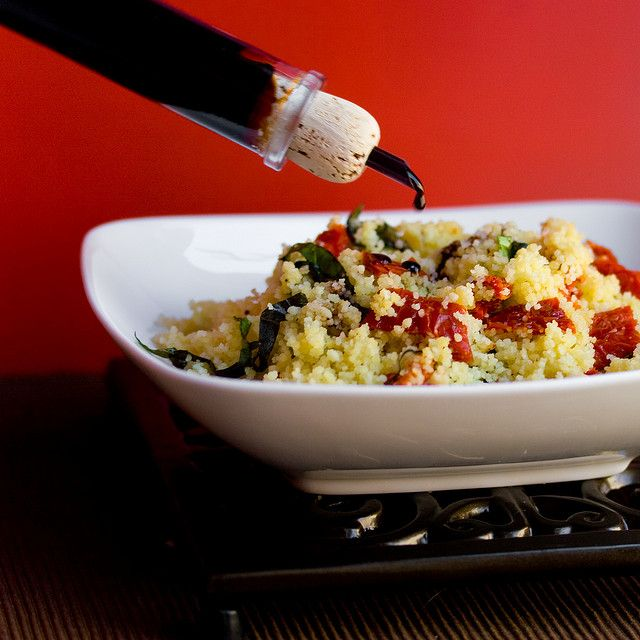 Sundried Tomato and Basil Couscous with Aceto Balsamico by ...